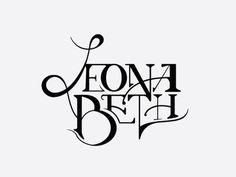 Art Nouveau Typography Logo