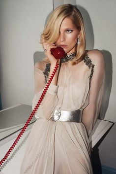 Iselin Steiro by Glen Luchford for Vogue Paris