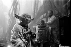 Wall Photos #film #yoda #wars #the #photography #scenes #behind #star