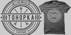 Tohopka T shirt design by binxent Mintees #shirt