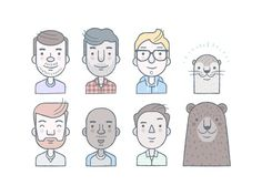 Avatars #illustration