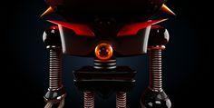 Tempestad & Tormenta Character Design. #model #cg #robot #c4d #3d