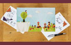 Zaccheus #flat #vector #print #design #color #illustration
