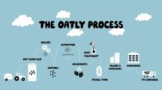 Process | Oatly #infographic #illustration