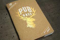 Pub Pass #type #gold #foil