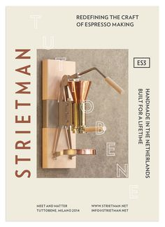 Vincent-Meertens-Strietman-Identity_12 #branding #print #copper #flyer #strietman #identity #pms #coffee