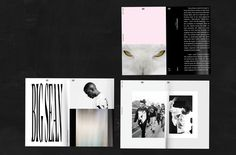 #brochure #layout #typography #type #print #julestardy #ovo #festival
