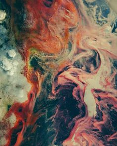 The Pathogenia VI 40 x 50 cm, Ed. of 1+1 #colors #bubble #liquid #blend #mixture