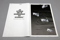 Überzeitung – Eine Liebeserklärung on Behance #eine #liebeserklrung #berzeitung #behance