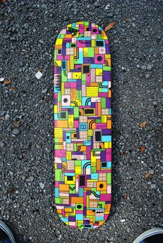 i hope this makes you happy #skateboard #illustration #lines #sharpie
