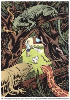 charles burns | Tumblr #charles #trees #burns