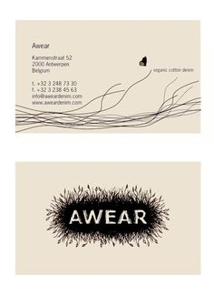 Logo Awear on Behance #organic