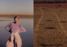 Fashion Story: Through The Marsh. Photography by Sven Kristian and fashion by Ceri Muller.