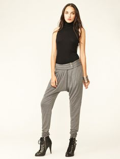 L.A.M.B. Jersey Pleated Pant