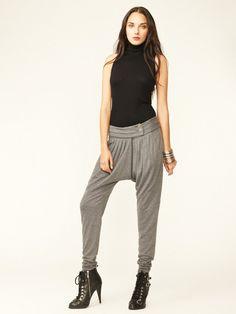 L.A.M.B. Jersey Pleated Pant #fashion #fall #pants