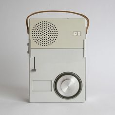 Amazing minimalistic product design from 1959 ... | WE AND THE COLOR - A Blog for Graphic Design and Art Inspiration #design #braun