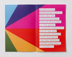 Farmhouse brand book #quote #design #graphic #rainbow #typography