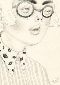 Sashiko Yuen - BOOOOOOOM! - CREATE * INSPIRE * COMMUNITY * ART * DESIGN * MUSIC * FILM * PHOTO * PROJECTS #drawing