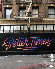 TGIF! What's ahead? 👆🏻 #streetart #mural by @itsaliving