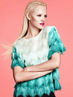 Ginta Lapina by Andrew Yee for H&M #model #girl #photography #fashion #editorial