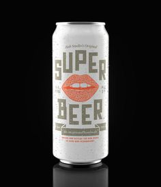 lovely package bob studios original super beer 5 #packaging