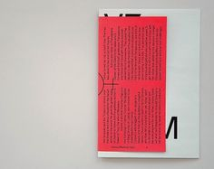 Venus Medium → Zak Klauck / Bench.li #print #design #graphic #publication #typography