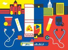 Part & Parcel • The GOOD Guide to College Preparedness #morin #partparcel #correll #garrett #damien