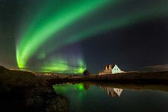 Fantastic Northern Lights Photos by Simona Buratti and Arnar Kristjansson
