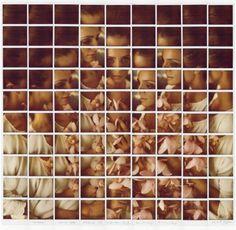 Polaroid Mosaics by Maurizio Galimberti | PICDIT #photos #photo #photography #mosaic #art