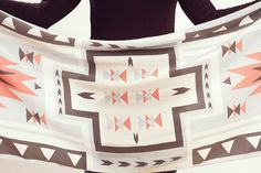 from: http://www.etsy.com/shop/gracedesign #geometry #scarf #triangle #etsy #textile #gracedesign #aztec