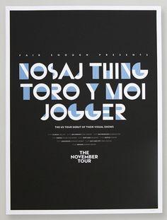 Adam Guzman #poster #typography