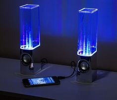 Light Show Fountain Speakers #gadgets