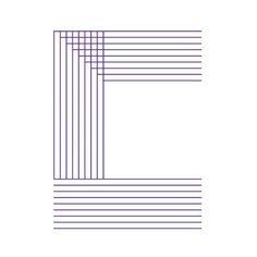 line C #font #typography