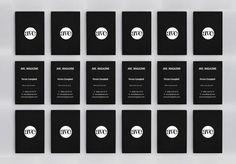 AVE #white #business #branding #black #cards