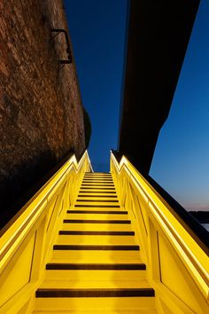 CJWHO ™ (Dazzling Cantilevered Staircase at Royal William...) #design #landscape #colors #architecture #stairs