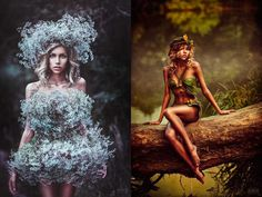 Conceptual and Dreamlike Portrait Photography by Svetlana Belyaeva