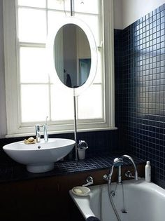 Small Bathrooms with Big Style - The Black Workshop #interior #design #bathroom #deco #decoration