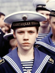 Sowjet Uniform by Waldemar Salesski #waldemar #sowjet #boy #portrait #russia #salesski #uniform