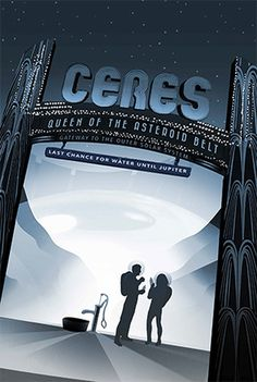 NASA Poster   Ceres #poster #nasa #illustration