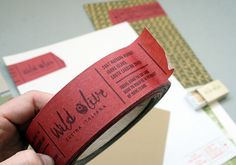 Wild Olive : Lovely Stationery . Curating the very best of stationery design #wild #stationary #stitch #olive