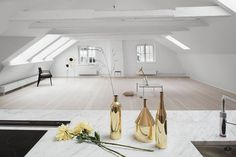 Studio Mama loft in Stockholm's Old Town - emmas designblogg #interior #design #decor #deco #decoration