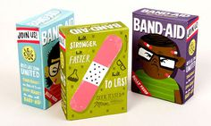 band-aid package #packaging #illustration