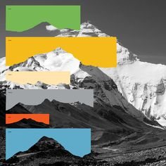 Hinterland #graphic design collage