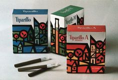 vintage packaging on wanken 12 #packaging #tiparillo