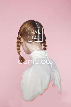 HAERAN X carricious by Carrie chang #inspiration #poster #typography