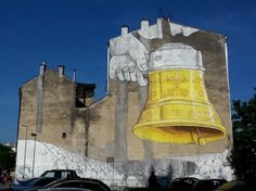 Blu in Krakow - unurth | street art #grafitti #blu #art #street