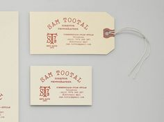 Manual - Sam Tootal #stationary #design #branding