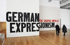 The Department of Advertising and Graphic Design #moma #german expressionism