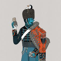 Luke Ramsey | PICDIT #design #color #illustration #art #drawing