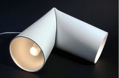 WIS Loves White - lifeiscarbon® #lamp #form #angle #annell #tube #wh #desk #pipe #ljus